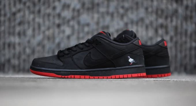 Nike Sb Dunk Low Black Pigeon Release Date 88323 008 7
