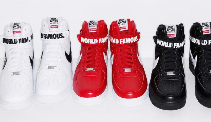 Supreme x Nike Air Force 1 High