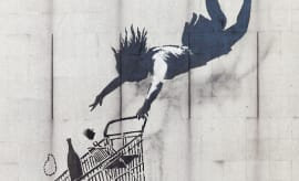 Shop Until You Drop Banksy