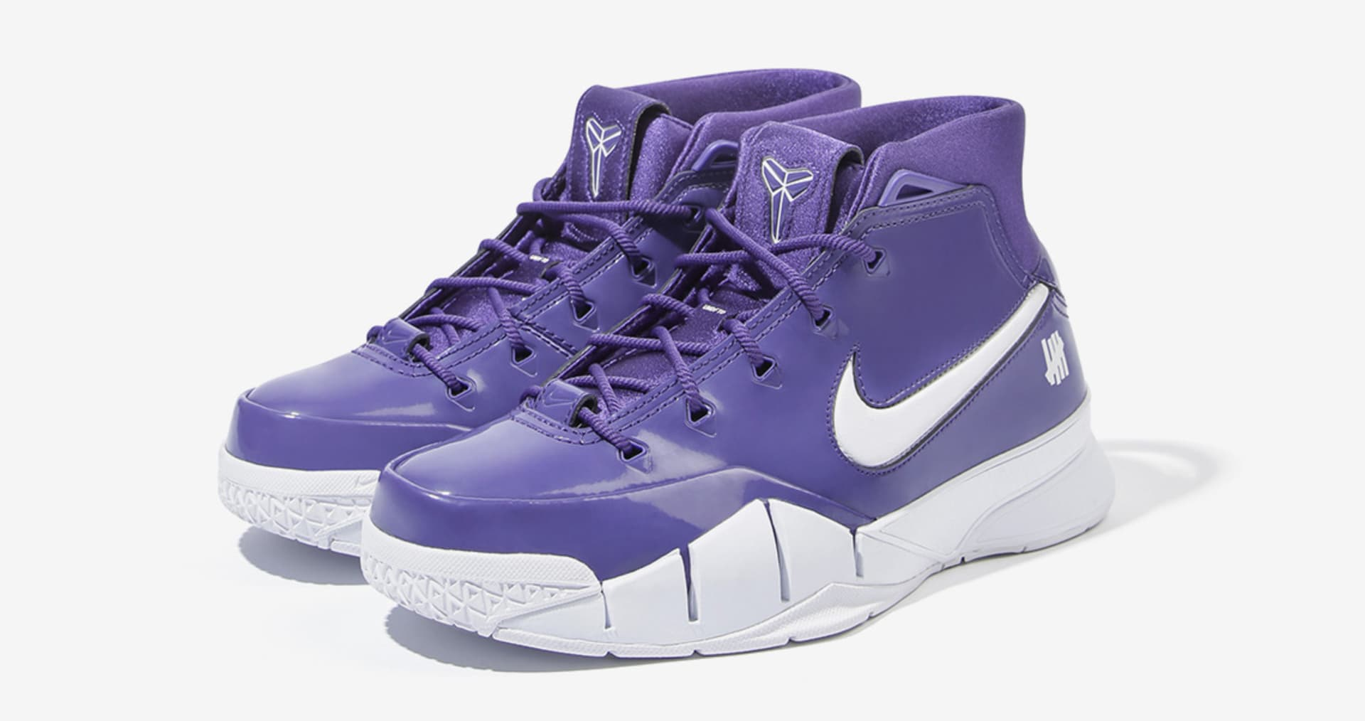 """1760893ad10 Undefeated x Nike Kobe 1 Protro """"Purple"""" (Friends and Family)"""