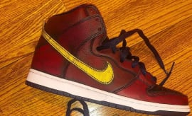 8319a147a NBA x Nike SB Dunk High  Cleveland Cavaliers  (Without ...
