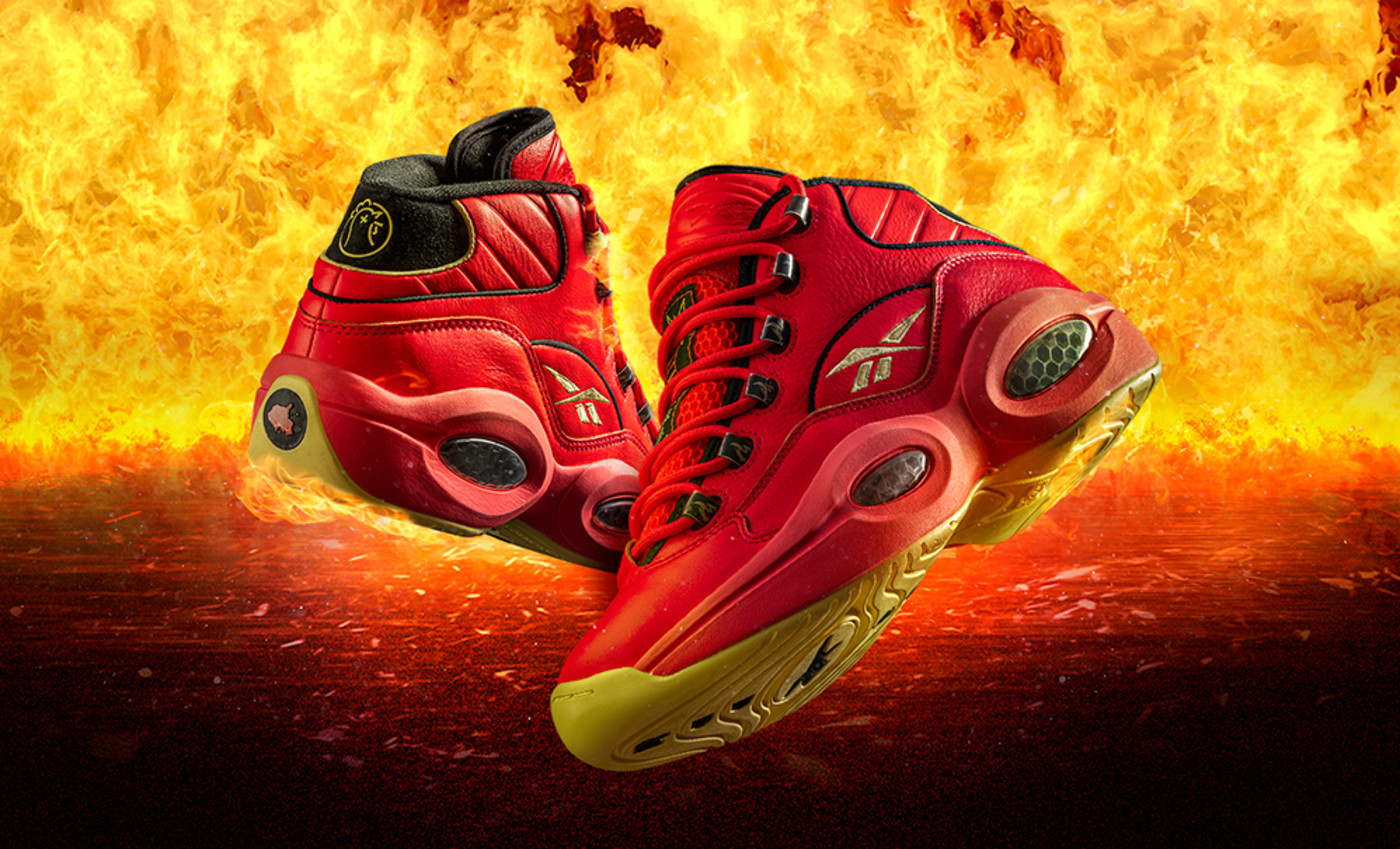 Hot Ones x Reebok Question Mid