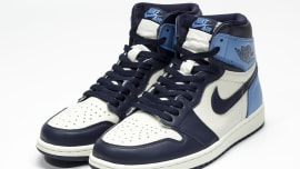 sports shoes 9ac1c cbb28 Better Look at the Latest UNC-Inspired Air Jordan 1