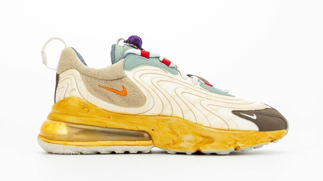 A New Release Date for Travis Scott's Nike Air Max 270 React Collab