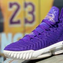 Nike LeBron 16 King Court Purple Release Date AO2588-500
