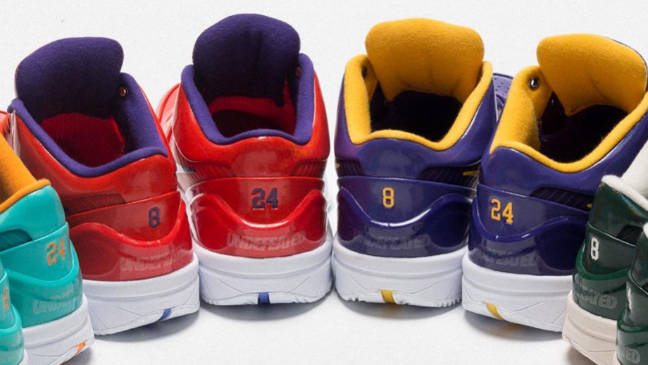 Undefeated x Nike Kobe 4 Release Date Detail