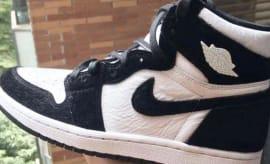 Air Jordan 1 Retro High OG  Black White . Sole Collector 14e14a1fa3