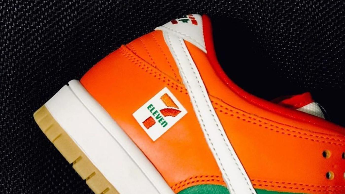 7-Eleven x Nike SB Dunk Low Heel