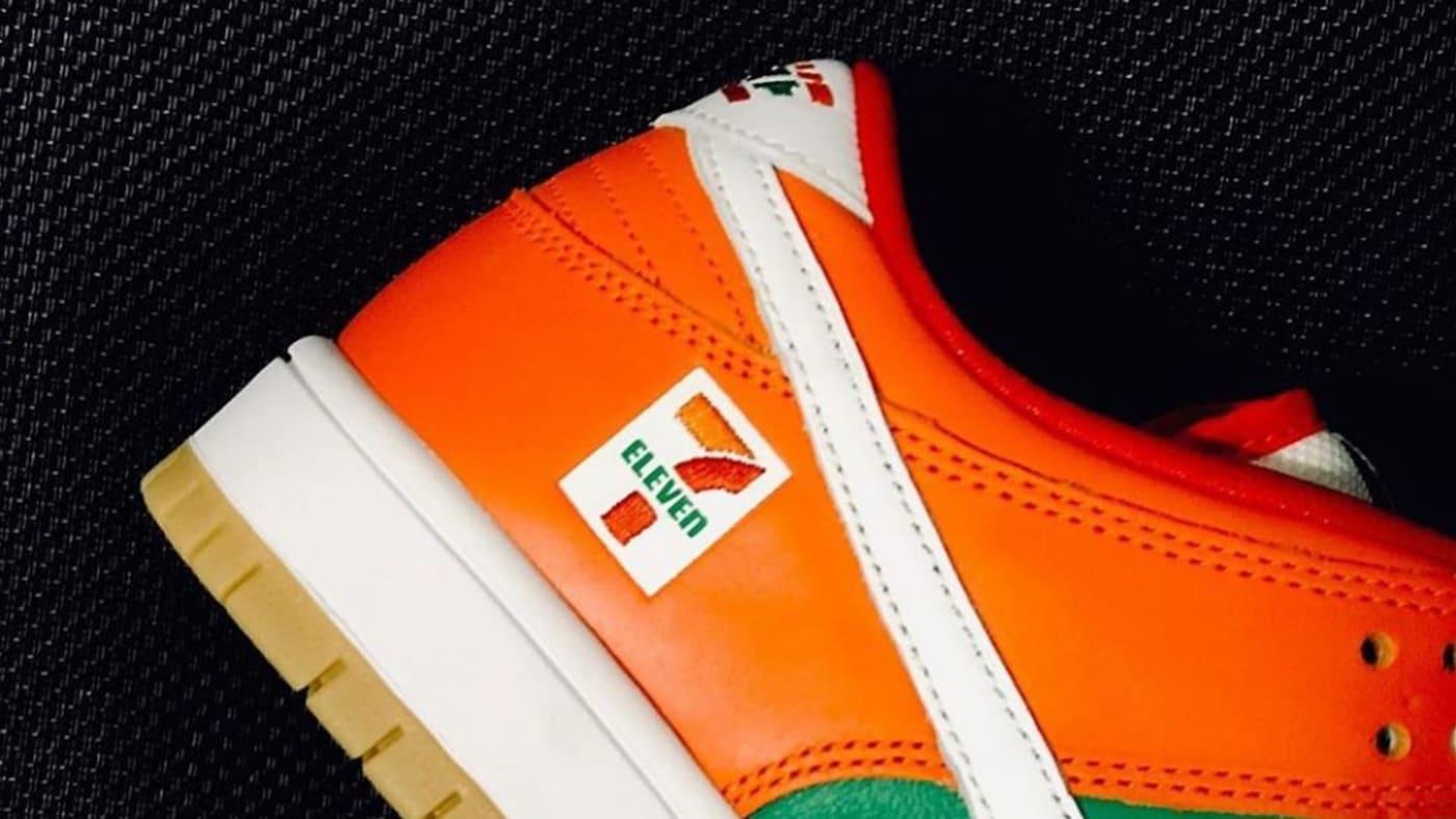 7 Eleven x Nike SB Dunk Low Heel