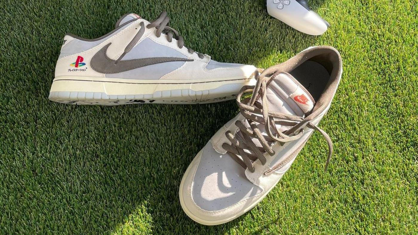 Is a Travis Scott x Playstation x Nike Dunk Low Releasing?   Complex