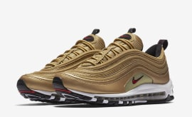 "Nike Air Max 97 ""Metallic Gold"""