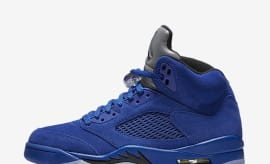 "Air Jordan V ""Blue Suede"""