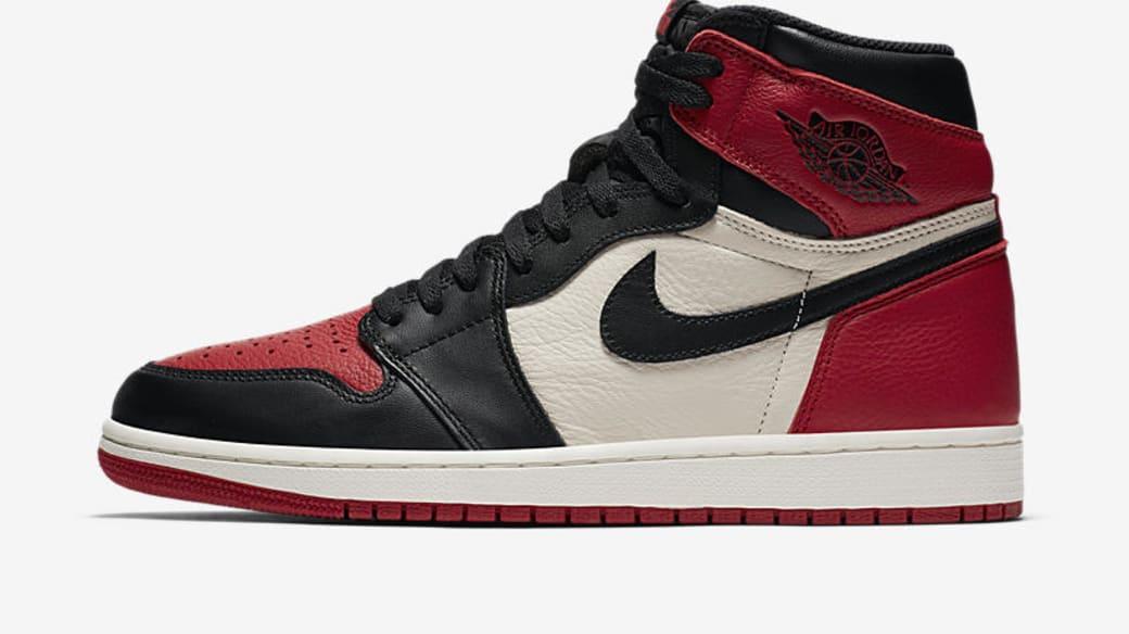 """Air Jordan 1 High OG """"Bred Toe"""""""