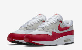 "Nike Air Max 1 OG ""White/University Red"""