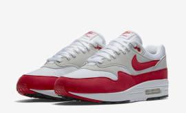 """Nike Air Max 1 OG """"White/University Red"""""""
