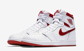 "Air Jordan 1 High OG ""Red Metallic"""