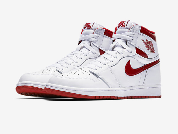 "Air Jordan 1 High OG ""Red Metallic"""