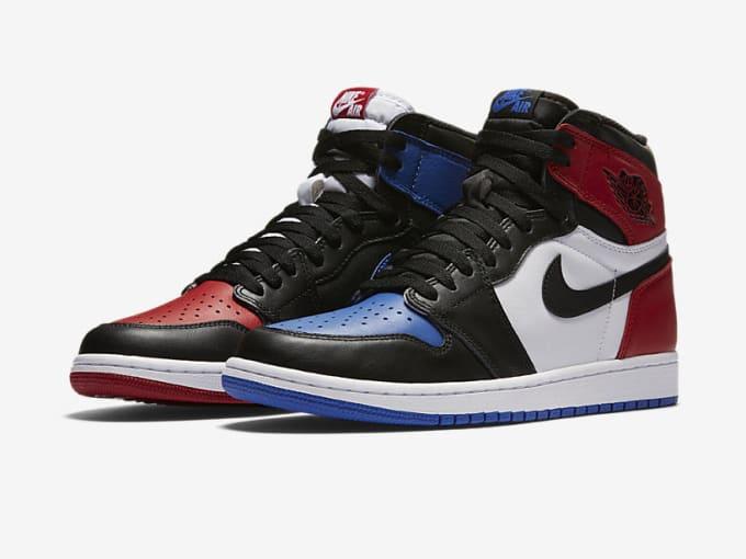 "Air Jordan 1 High ""Top Three"" side"
