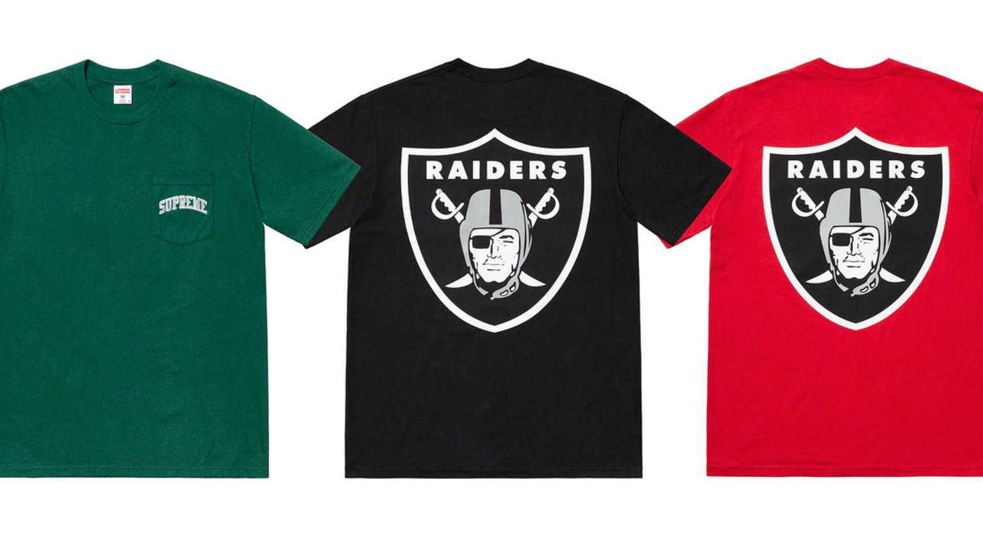 Supreme x NFL x '47 Brand 'Raiders' Collection