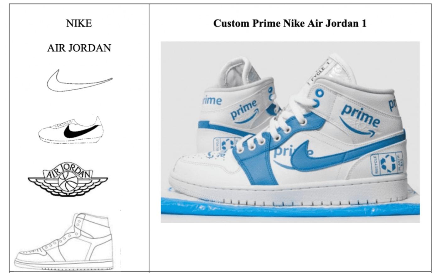 Nike Custom Lawsuit Images