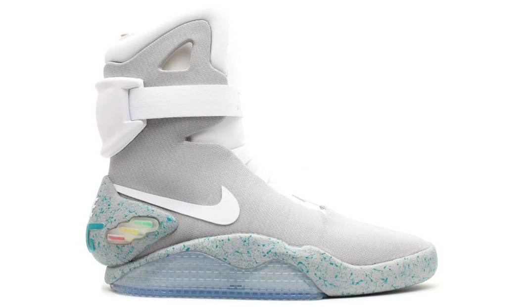 6 Pairs of Nike Mags Found in Storage Unit