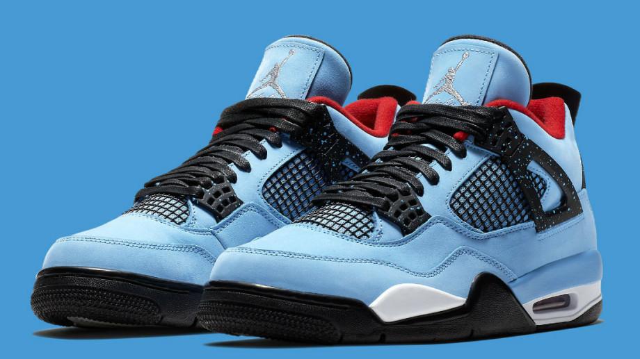 Travis Scott x Air Jordan 4 IV Oilers Release Date 308497-406 Main
