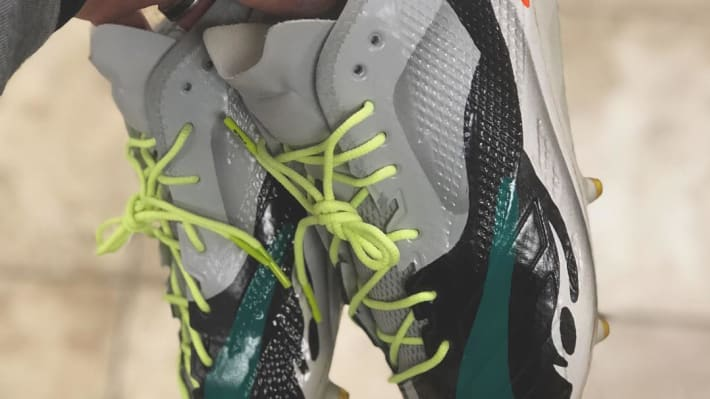 What the Adidas Yeezy Wave Runner Looks Like as a Cleat