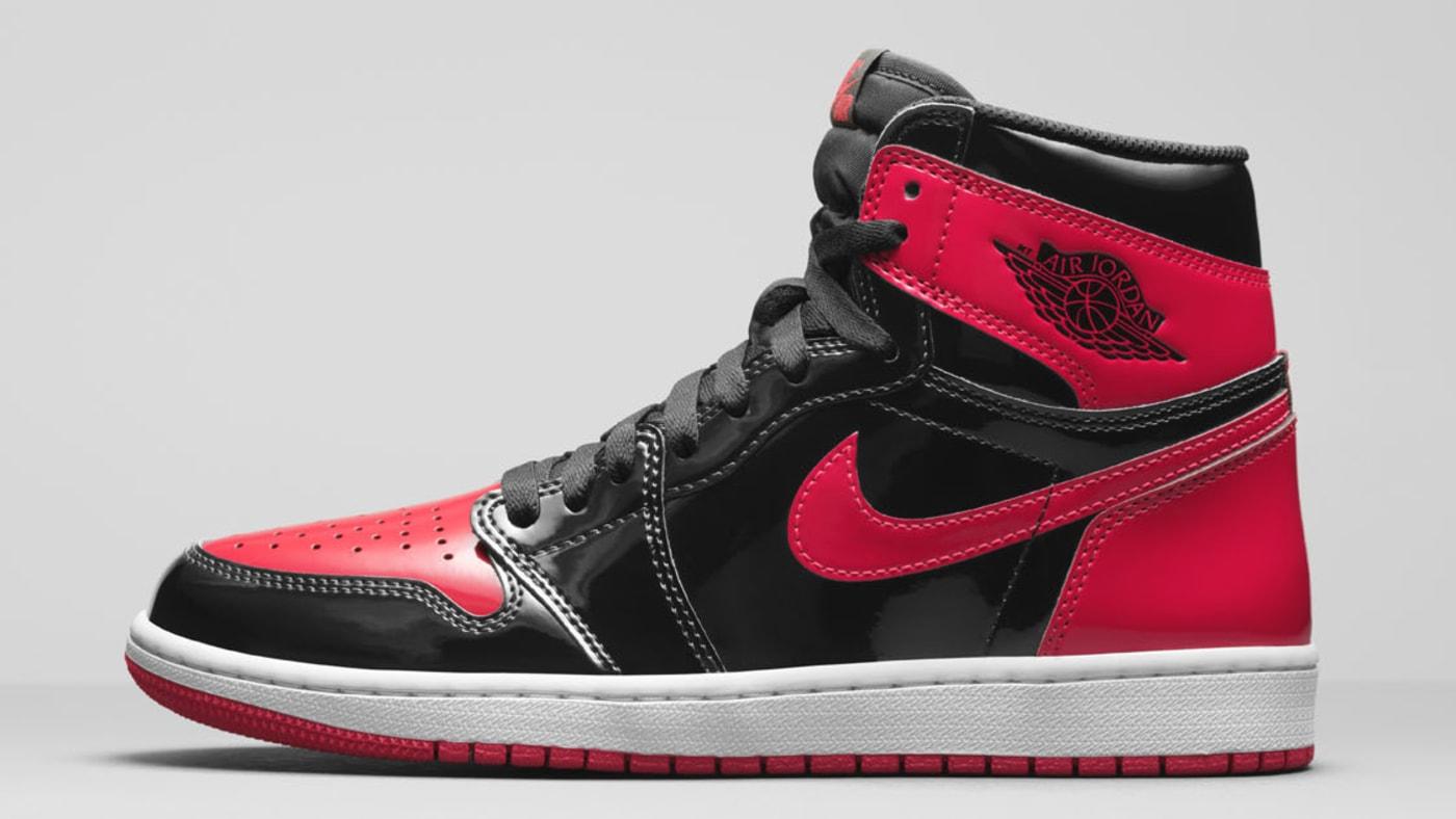 Air Jordan 1 High OG 'Bred Patent' 555088-063