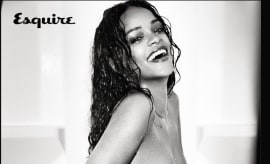 Rihanna on UK Esquire