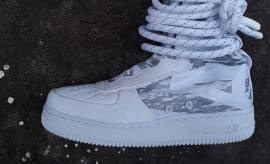 Nike Special Field Air Force 1 High White Tiger Camo
