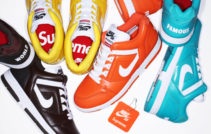 e26c2f31174 A History of Supreme s Nike Collaborations