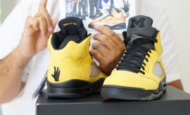 DJ Khaled Fab 5 Air Jordan 5