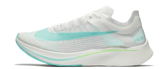 139ffa8d0658 Nike Zoom Fly SP  Rage Green  and  Sunset Pulse