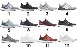 2018 Adidas Ultra Boosts