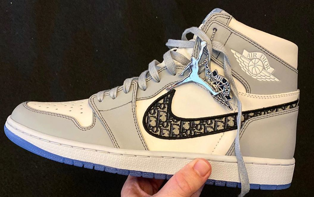Here's What People Think About the Dior x Air Jordan 1s