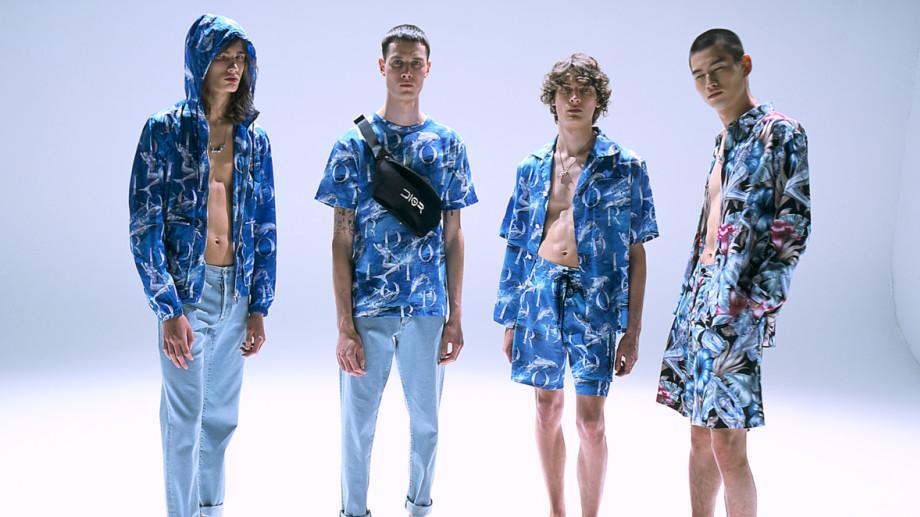 Dior Men's Beachwear Collection