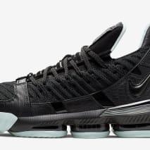 Nike LeBron 16 SB 'Black/Glow' (Lateral)