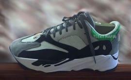 Adidas Yeezy Boost 700 Tan Green Profile
