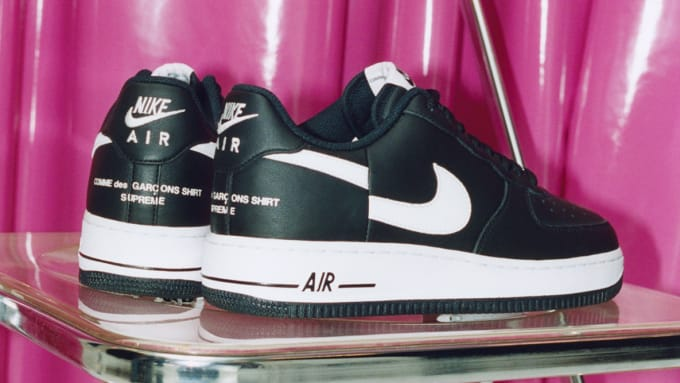 Comme des Garçons x Supreme x Nike Air Force 1 Low 59b4aa5c0fa3