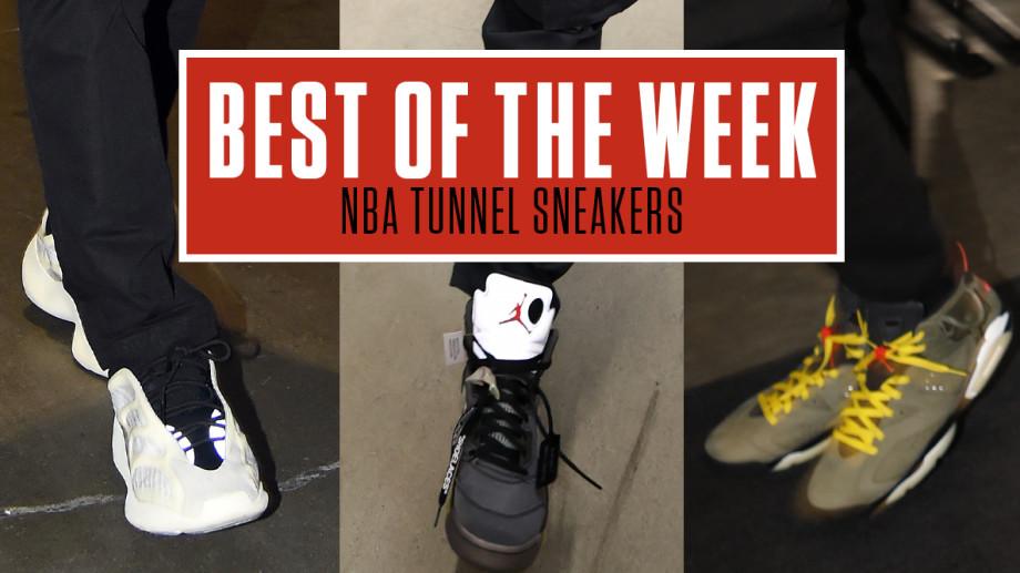 Best NBA Tunnel Sneakers Week 14
