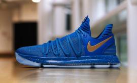 Nike KD 10 Blue Finals PE Profile