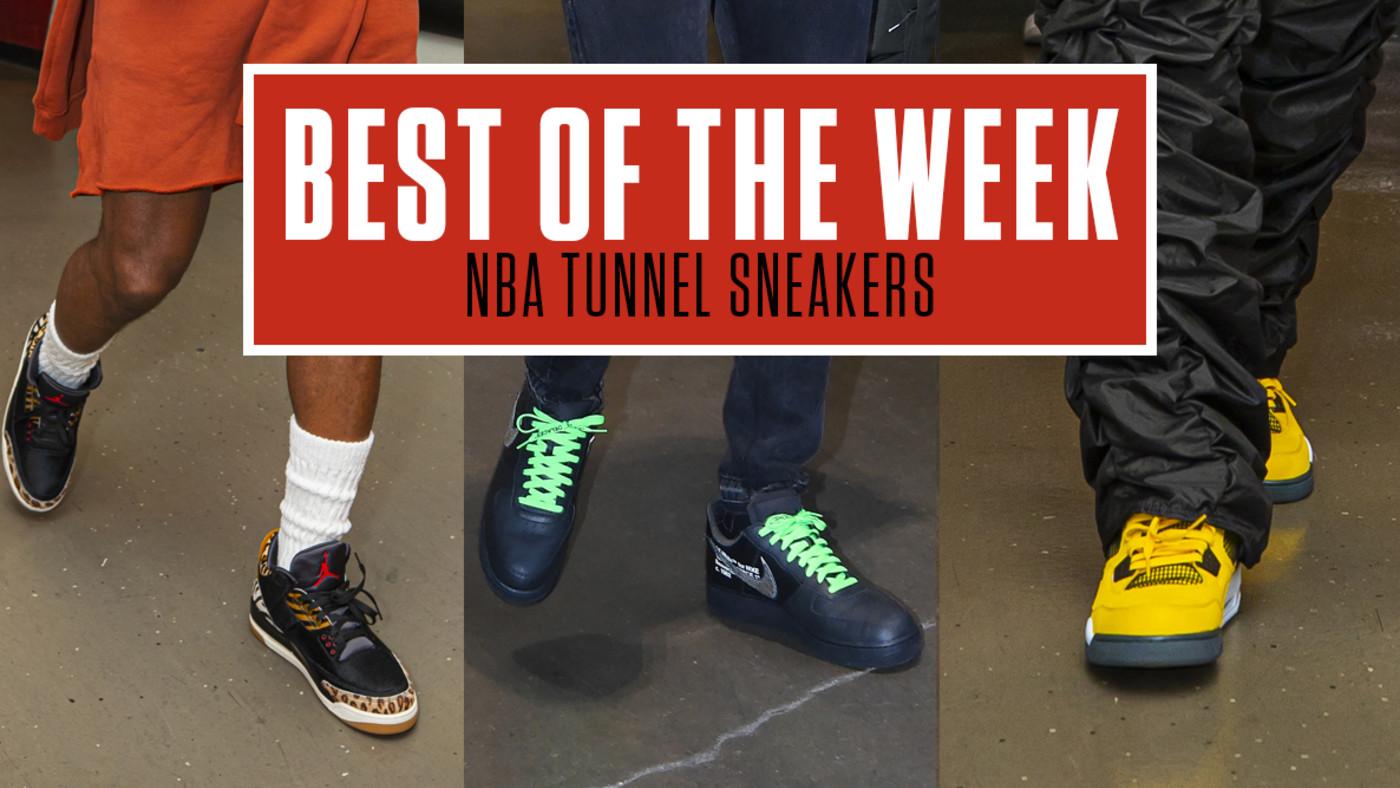 Best NBA Tunnel Sneakers Week 2 Lead