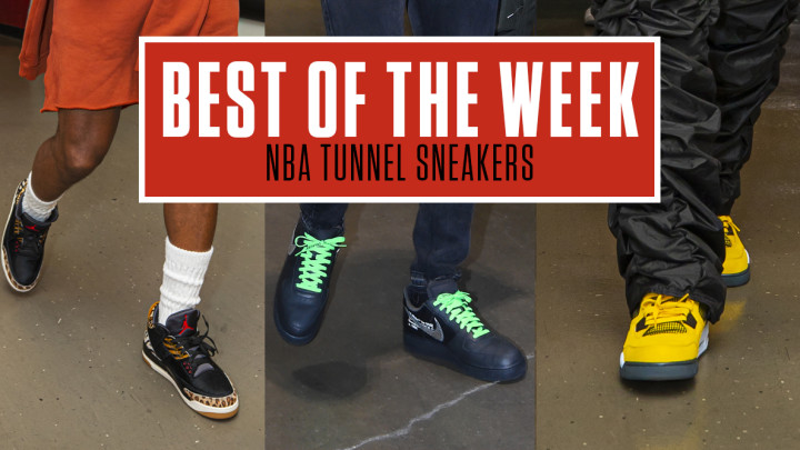 Best NBA Tunnel Sneakers Week 2 Lead