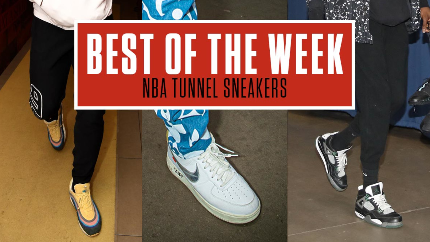 Best NBA Tunnel Sneakers Week 9