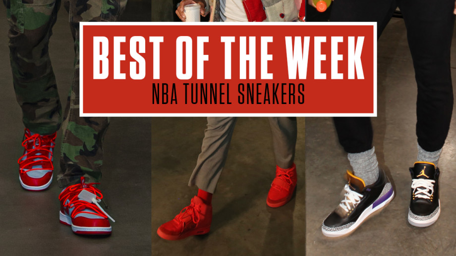 Best NBA Tunnel Sneakers Week 6
