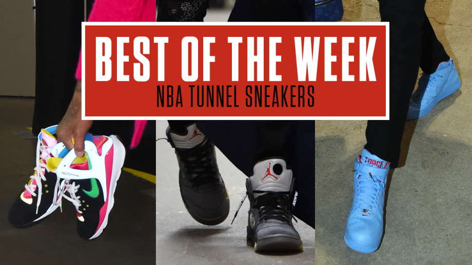 Best NBA Tunnel Sneakers Week 12