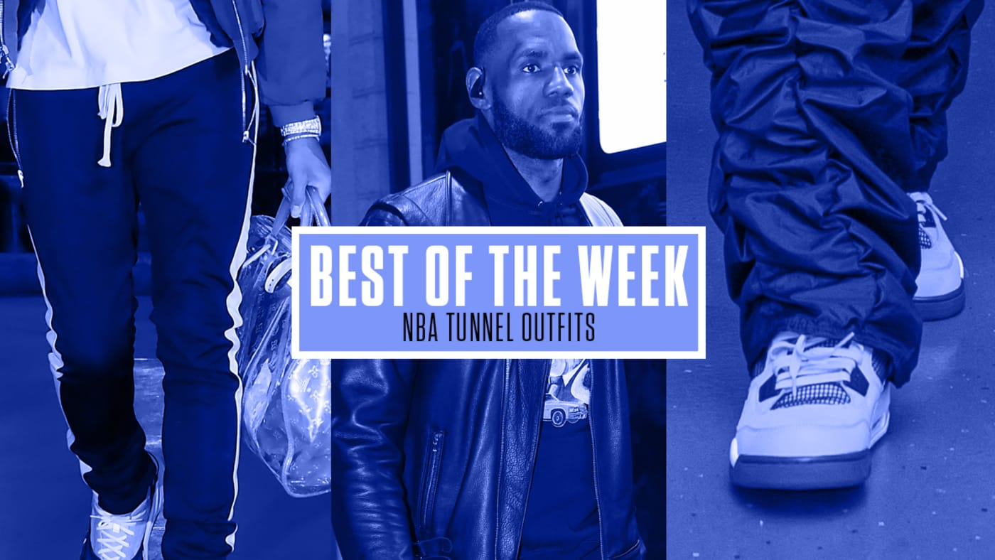 NBA Tunnel Outfits Week 5
