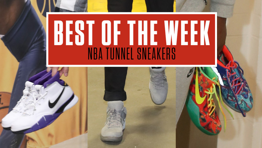 Best NBA Tunnel Sneakers Week 10