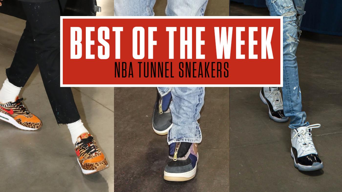 Best NBA Tunnel Sneakers Week 5