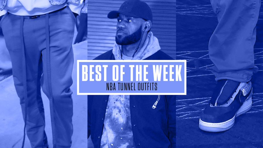 NBA Tunnel Outfits Week 6